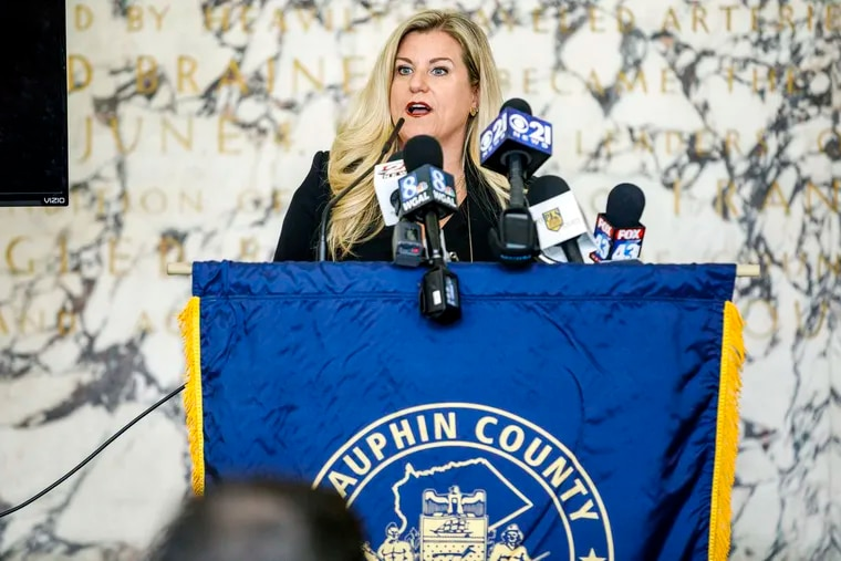 Victim Advocate Jennifer Storm said it would be a mistake to remain in the $133,000-a-year position after the GOP-controlled state Senate late last year blocked her from serving another six years.