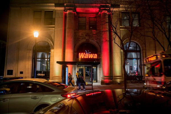 Inside the largest Wawa in the history of the universe, opening near Independence Hall Friday