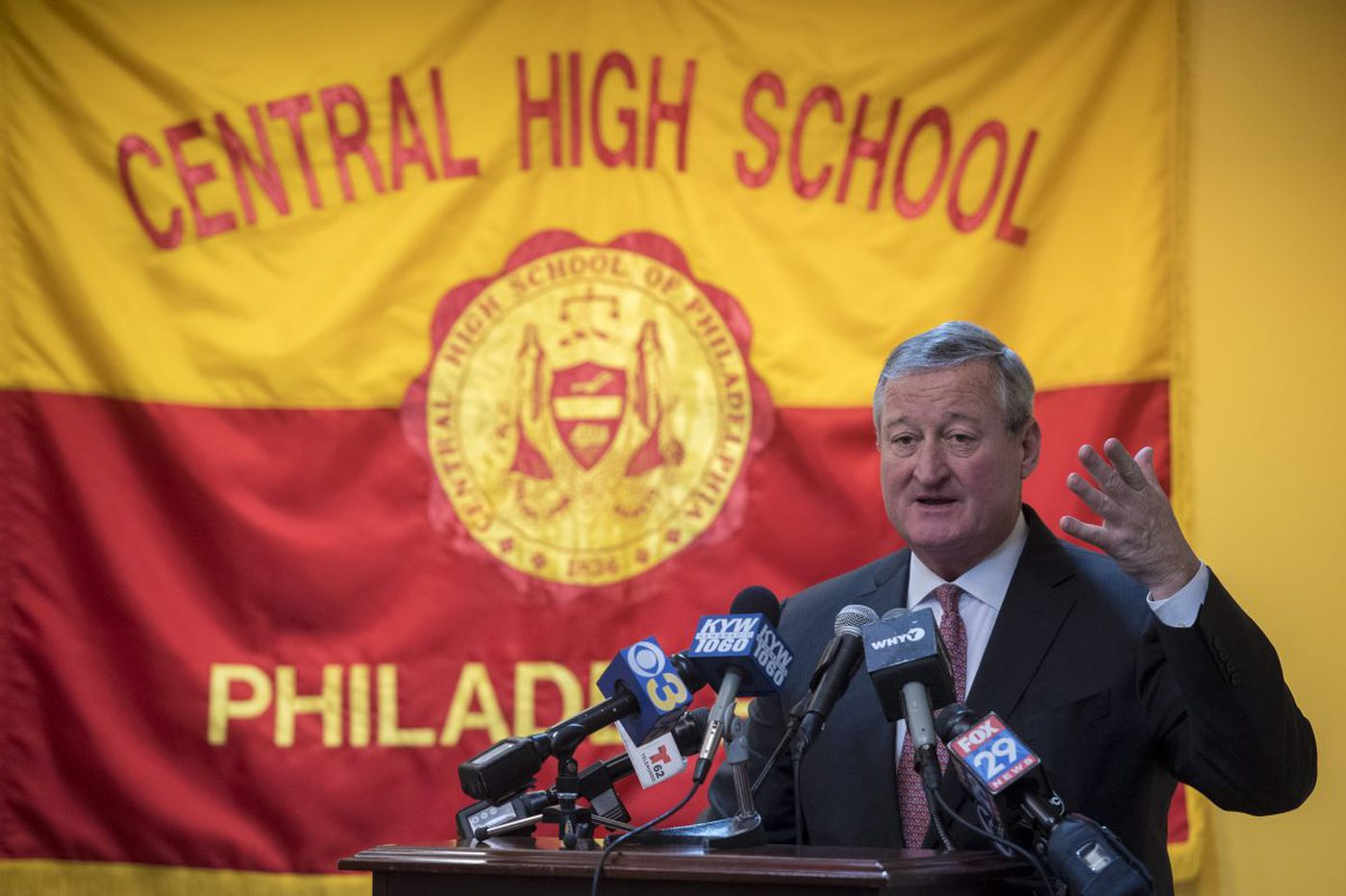 Mayor Kenney to seek property tax hike to help offset schools' nearly $1 billion deficit