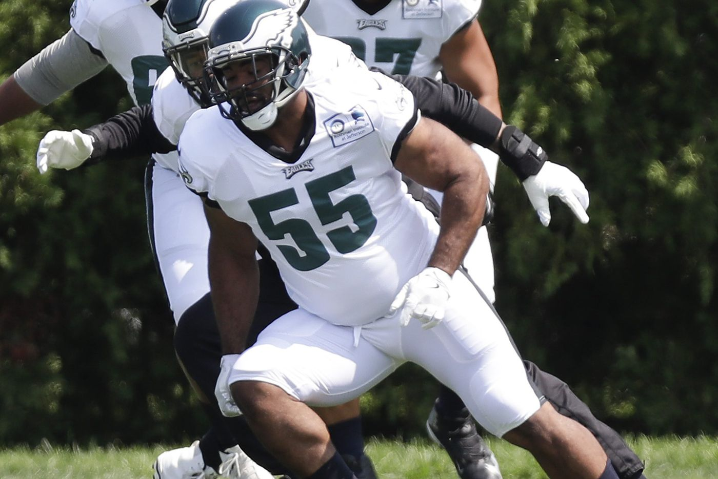 Eagles defense will be stronger with 'caged-up lion' Brandon Graham, but is he ready?