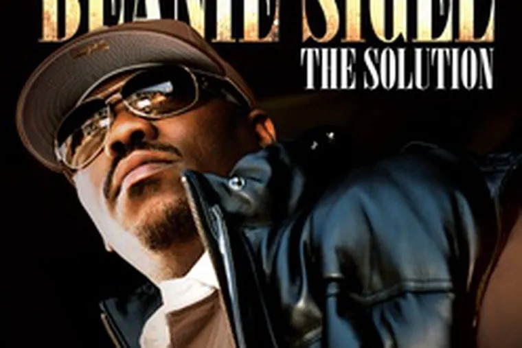 """Sigel says he needed to put hard-core """"reality"""" songs on """"The Solution"""" because """"I give you both sides. . . . I think hip-hop right now lacks character."""""""