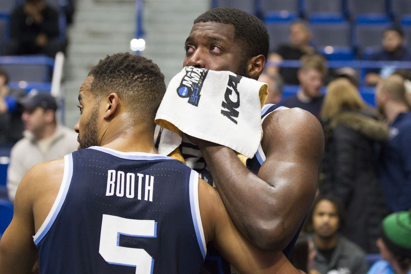 Phil Booth, Eric Paschall gave all they could to Villanova: 'They've been like big brothers, fathers almost to these guys'