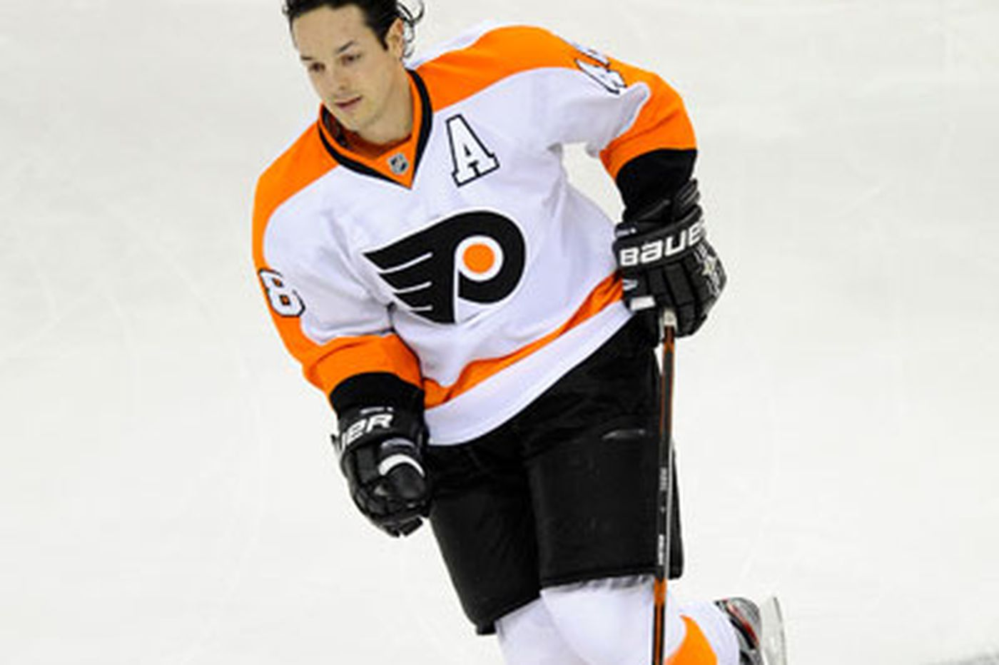 Flyers Notes: Briere shelved with hand bruise