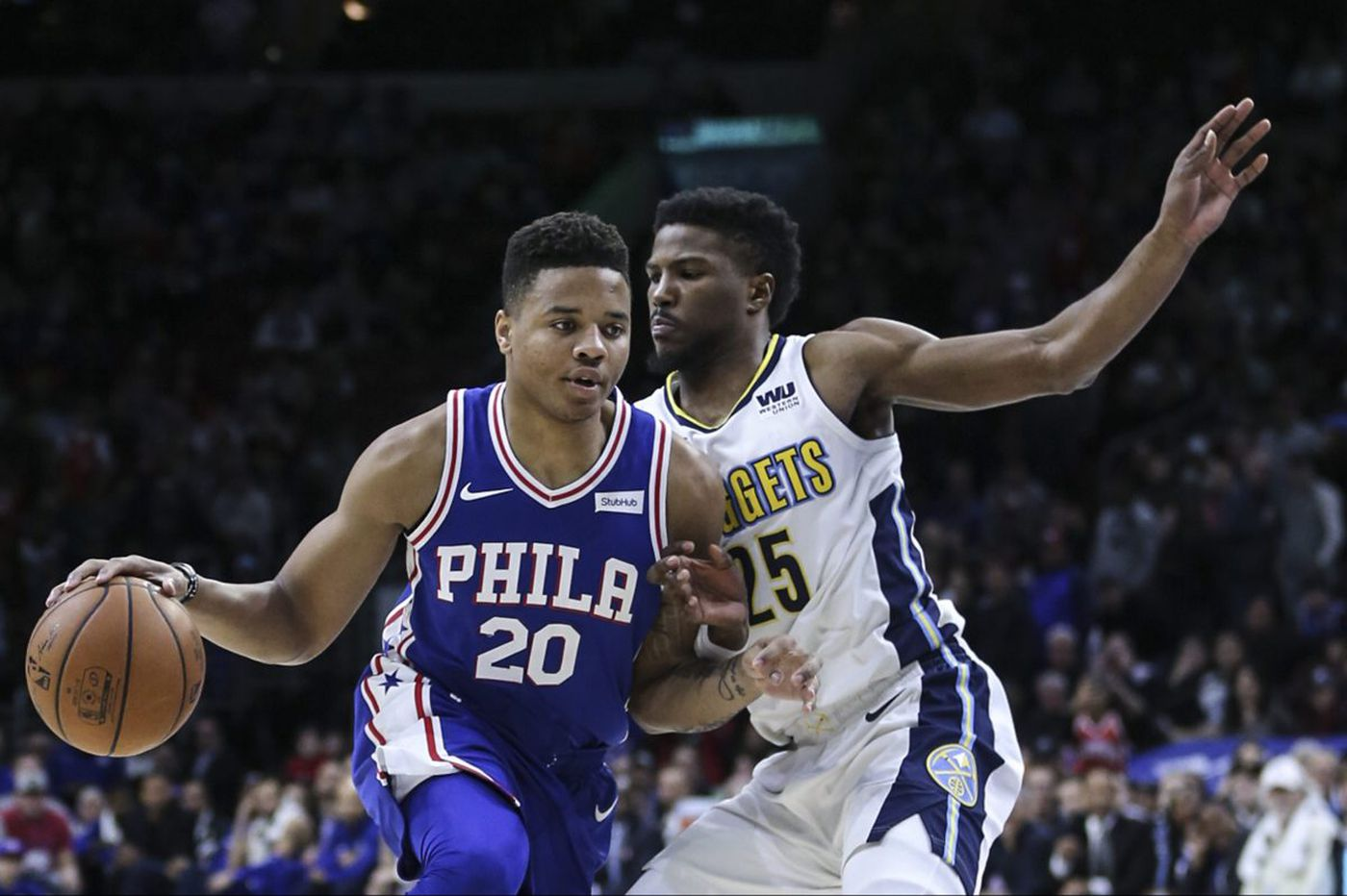Against Nuggets, Fultz looks like a player who can help | David Murphy
