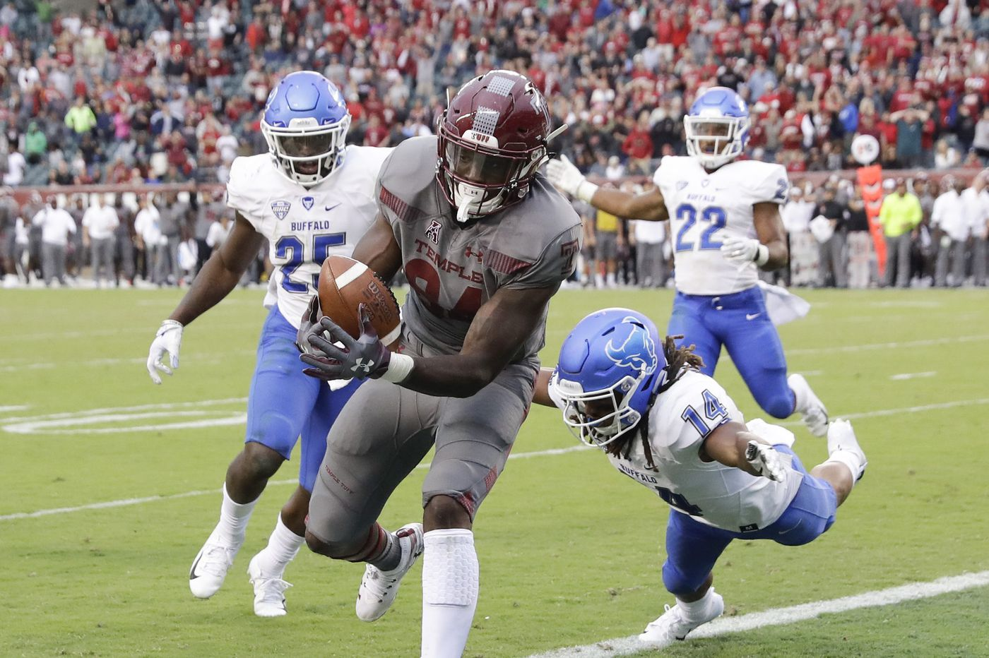 Temple offensive line seeks improvement