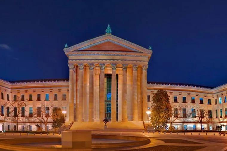 The Philadelphia Art Museum. (Photo by George Widman)