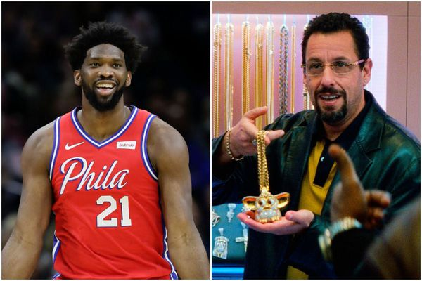 Sixers' Joel Embiid could have starred in the new Adam Sandler movie