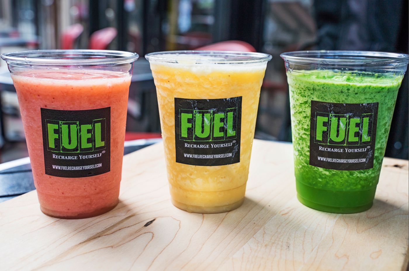 CBD smoothies from Fuel.