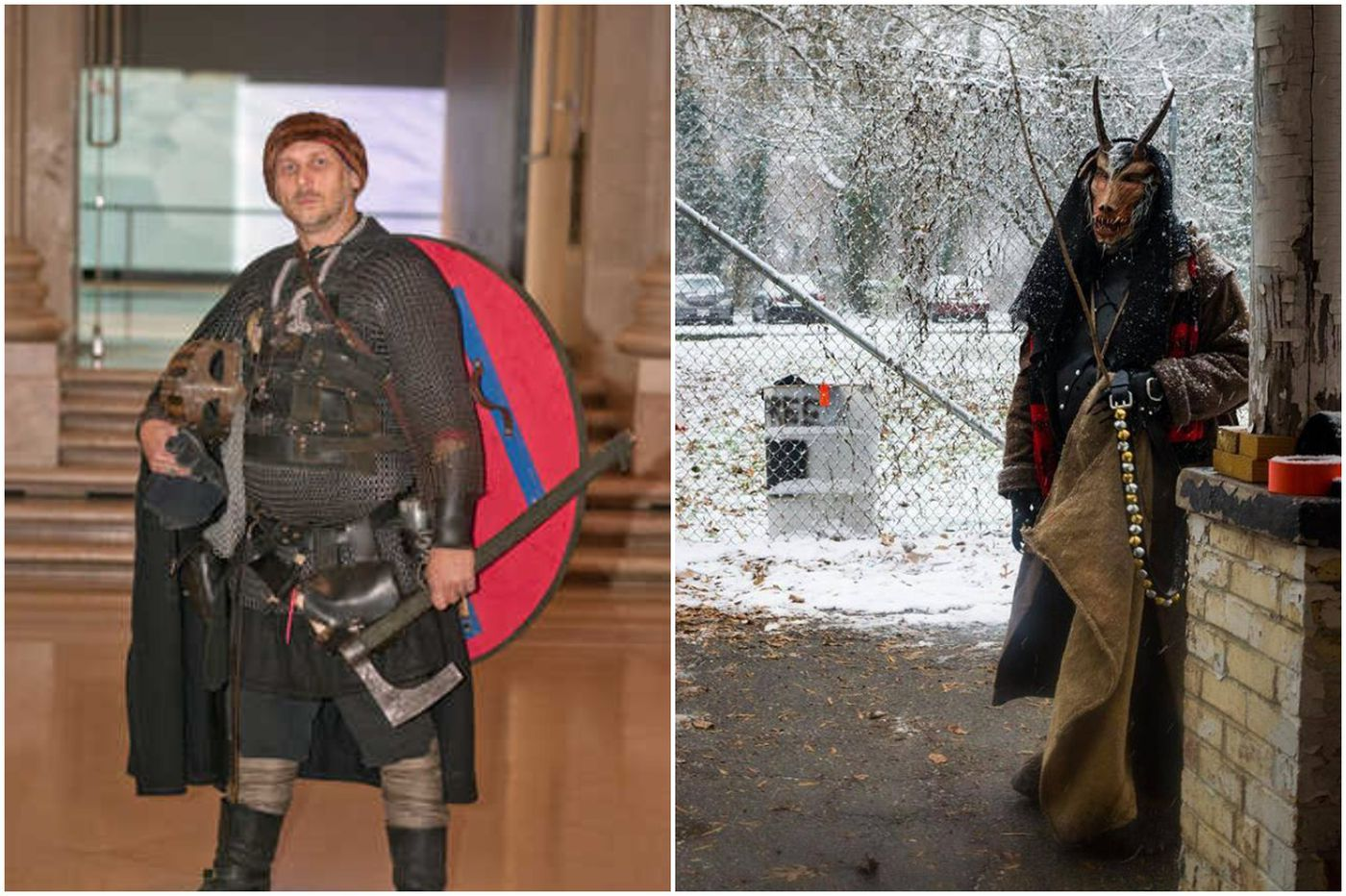 'Erik the Everyday Viking' pillages minds and dresses like Krampus at Christmastime | We the People