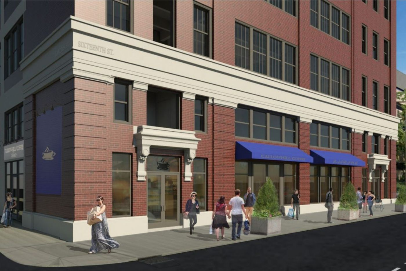 Next up for warehouse-turned-office building on Callowhill Street: Apartments