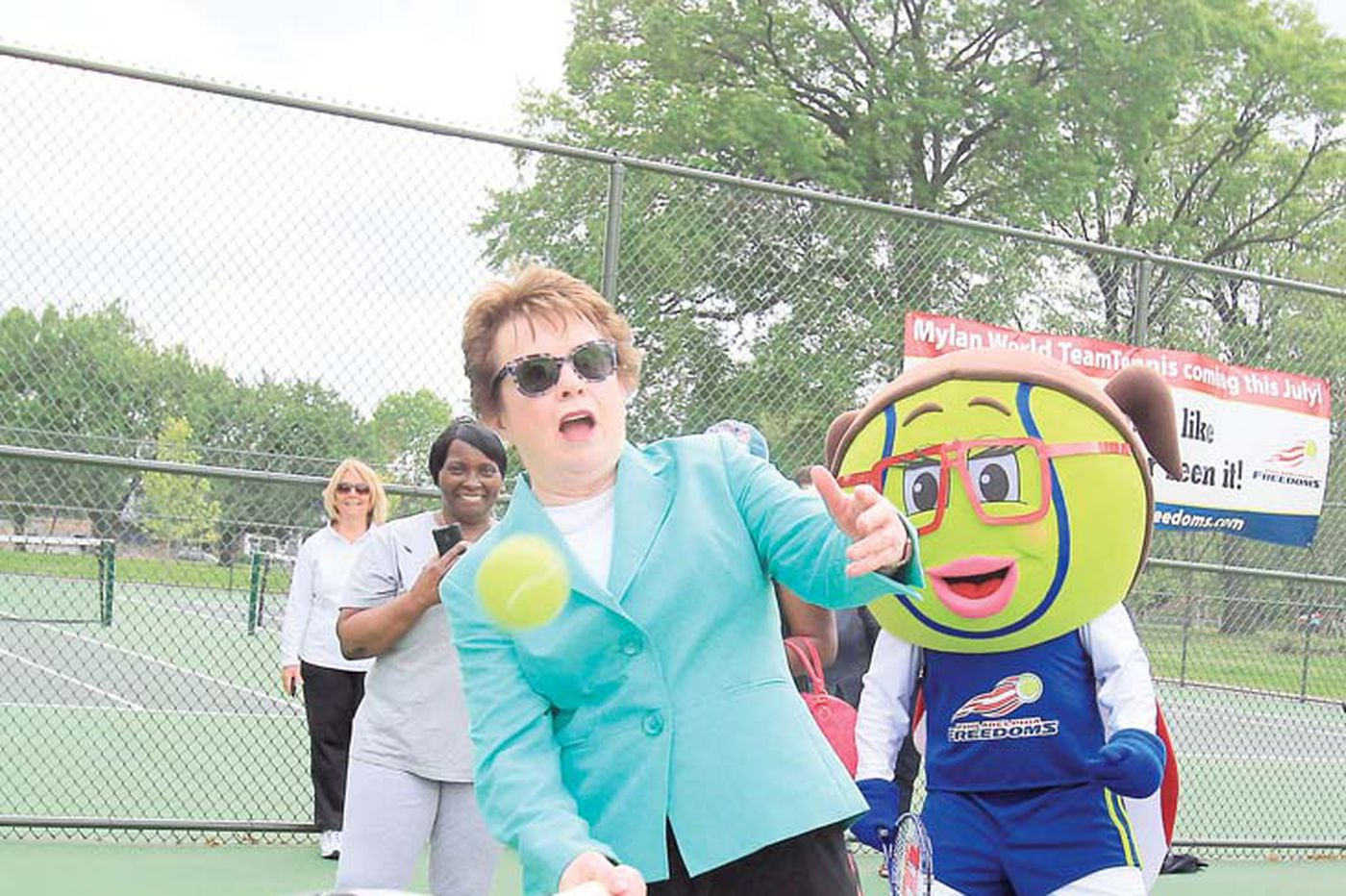 Philadelphia Freedoms owner Billie Jean King discusses COVID-19, following the WTT tournament and social injustice
