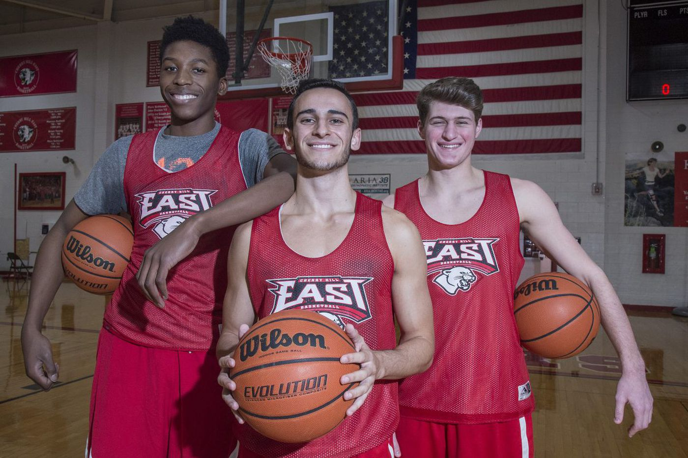Cherry Hill East boys' basketball seniors fueled by past rejections | Phil Anastasia