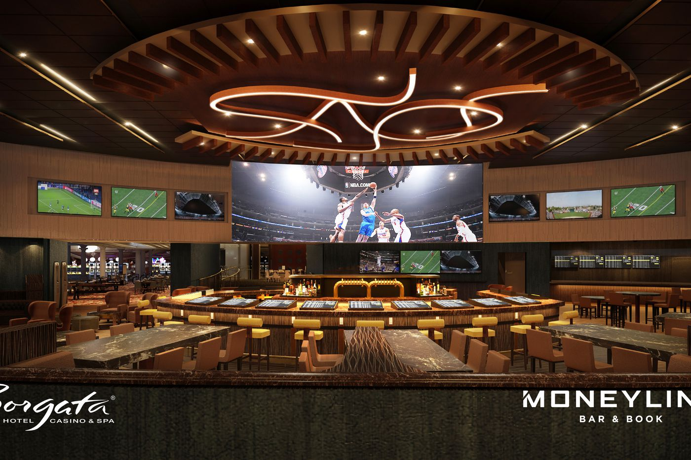 Borgata announces date for opening of renovated sportsbook