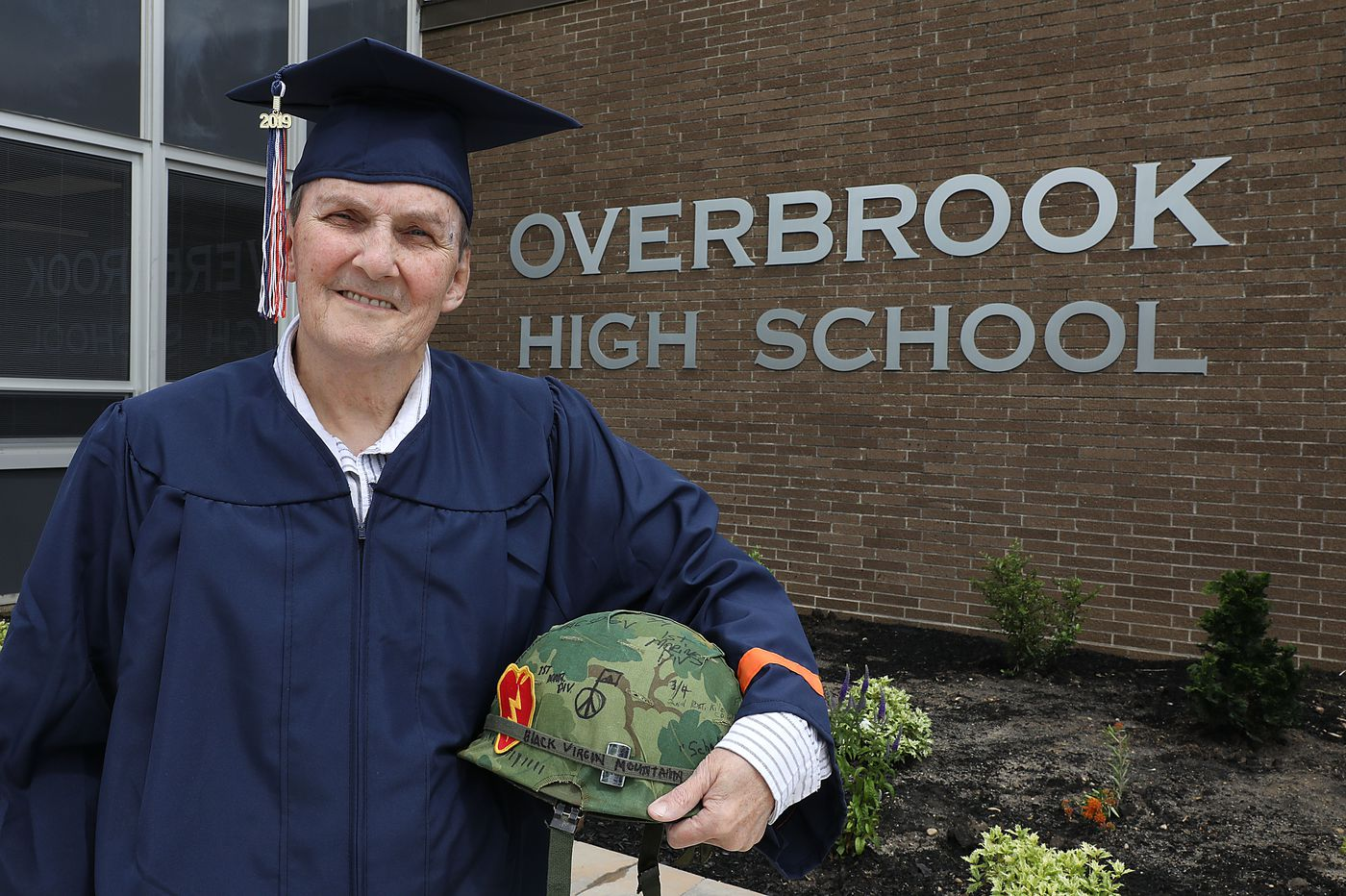 Vietnam veteran who dropped out to join Army gets high school diploma 50 years later