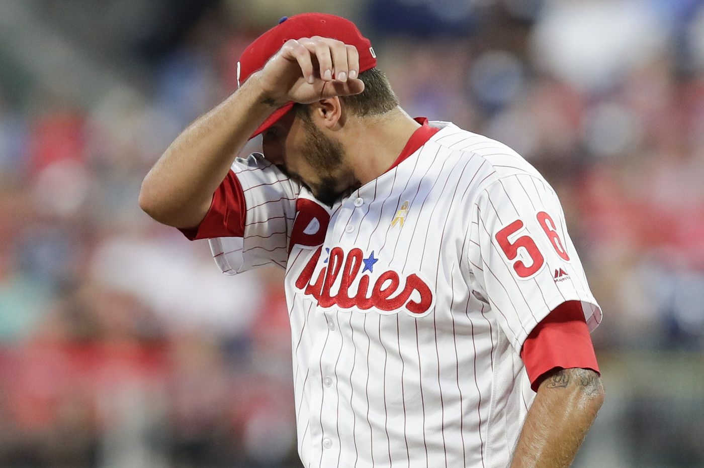 Phillies lose to Cubs as Zach Eflin's struggles on the mound continue