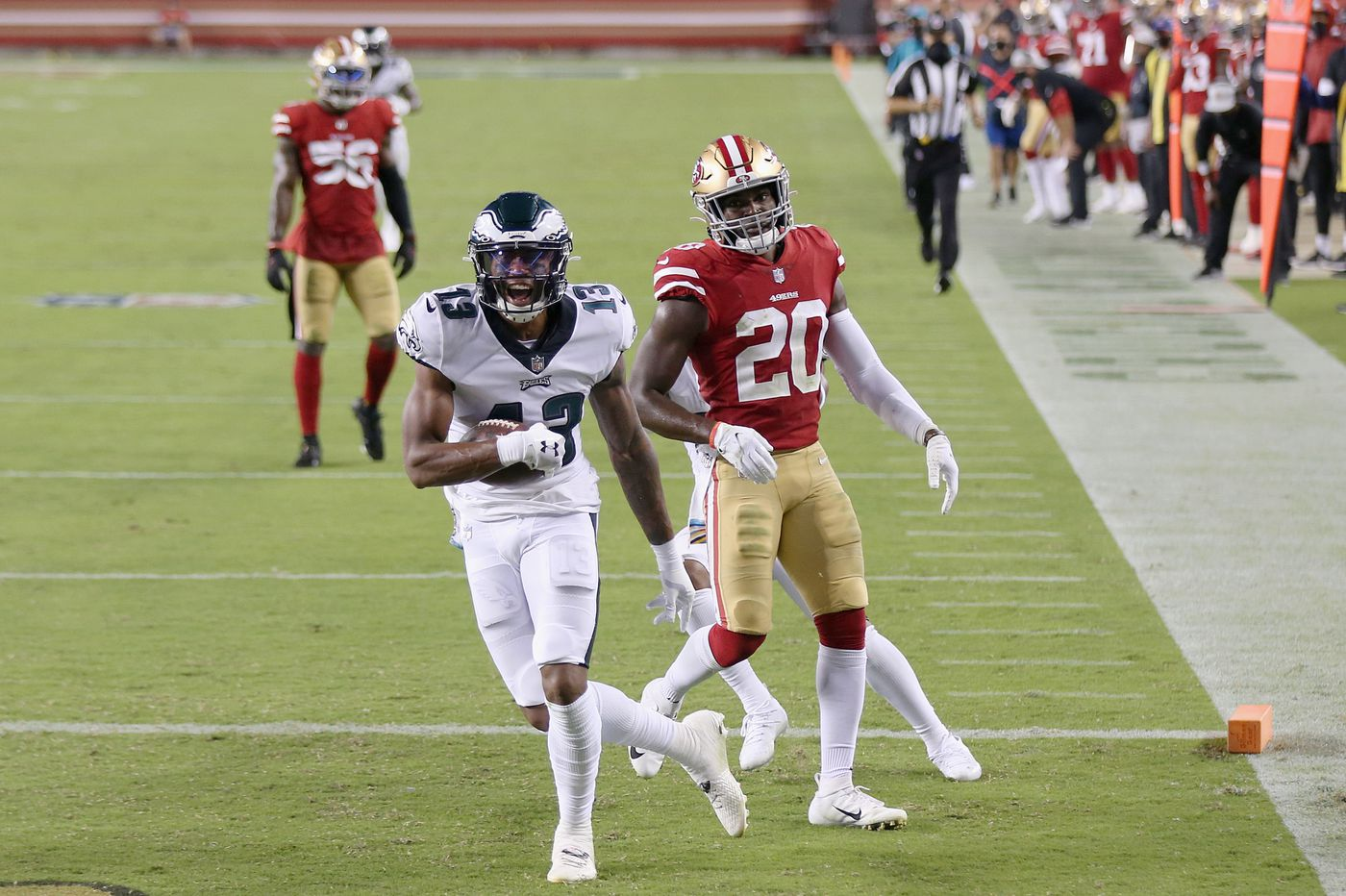 Eagles fans, meet Travis Fulgham, the practice-squad wide receiver whose touchdown sparked the win over the 49ers