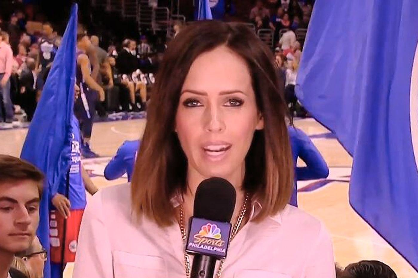 Former Sixers sideline reporter Molly Sullivan joins the Eagles