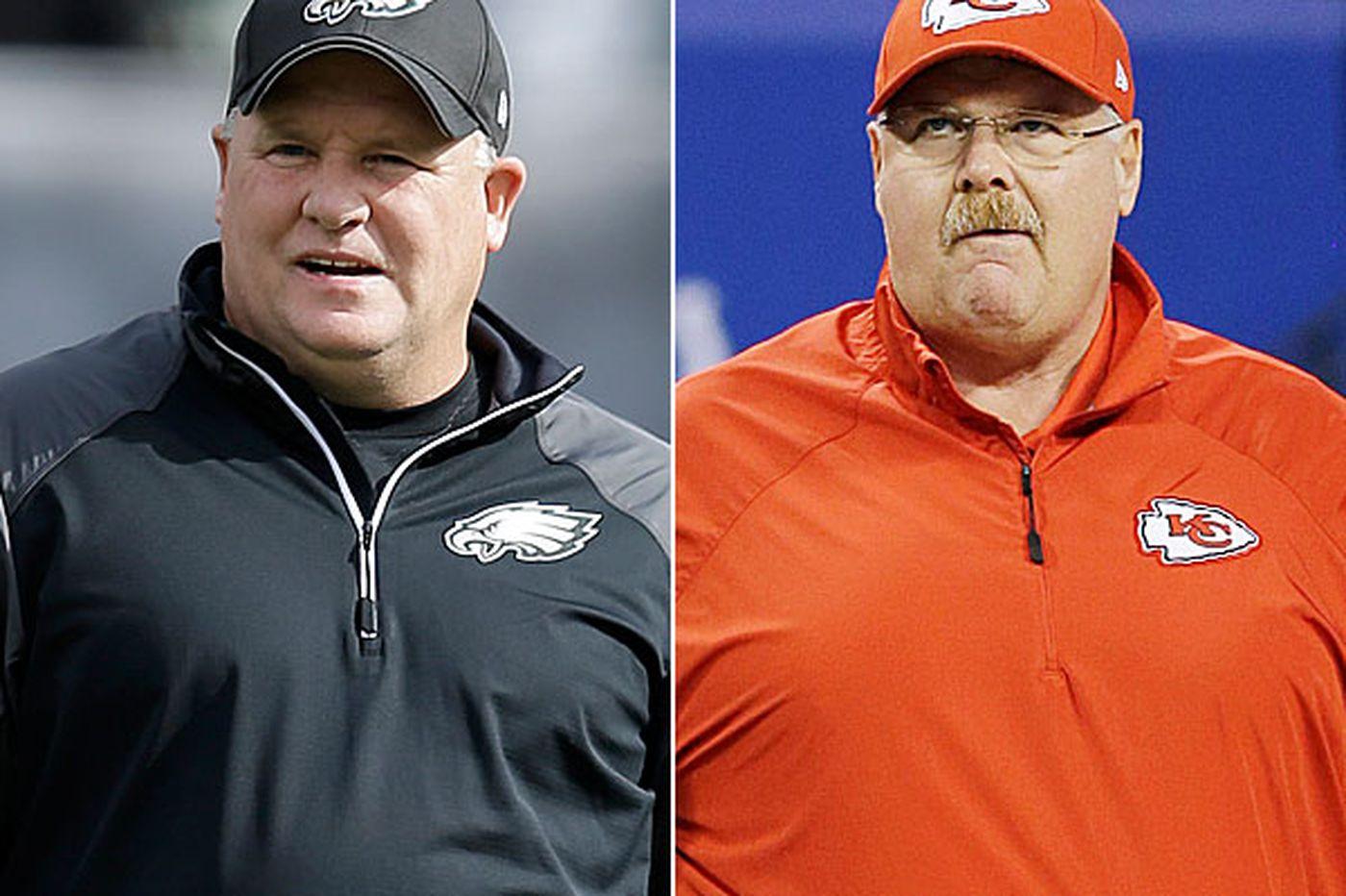 Eagles' Kelly a big fan of Reid's offensive players
