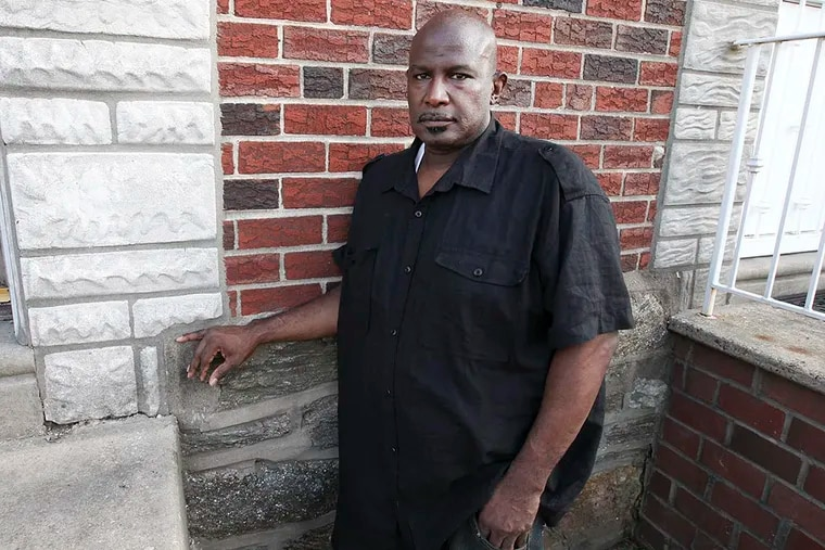 Herbert Spellman is suing two officers who he says stopped him for no reason; the cops say they thought they'd seen a drug deal. ( Steven M. Falk / Staff Photographer )