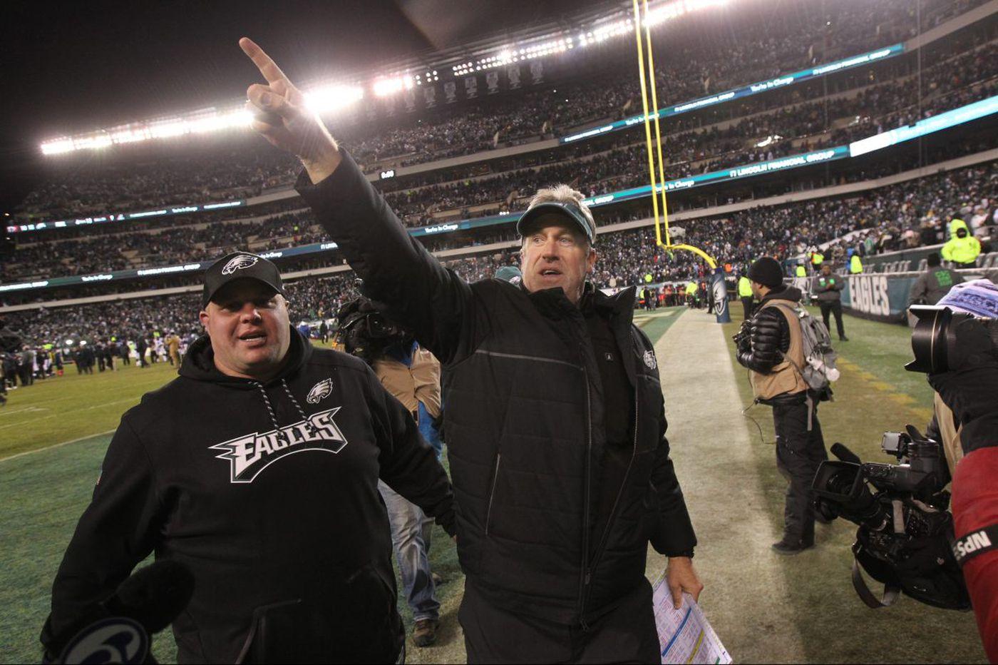 Eagles' NFC championship game berth is credit to Doug Pederson's steady hand, slick play calls | David Murphy