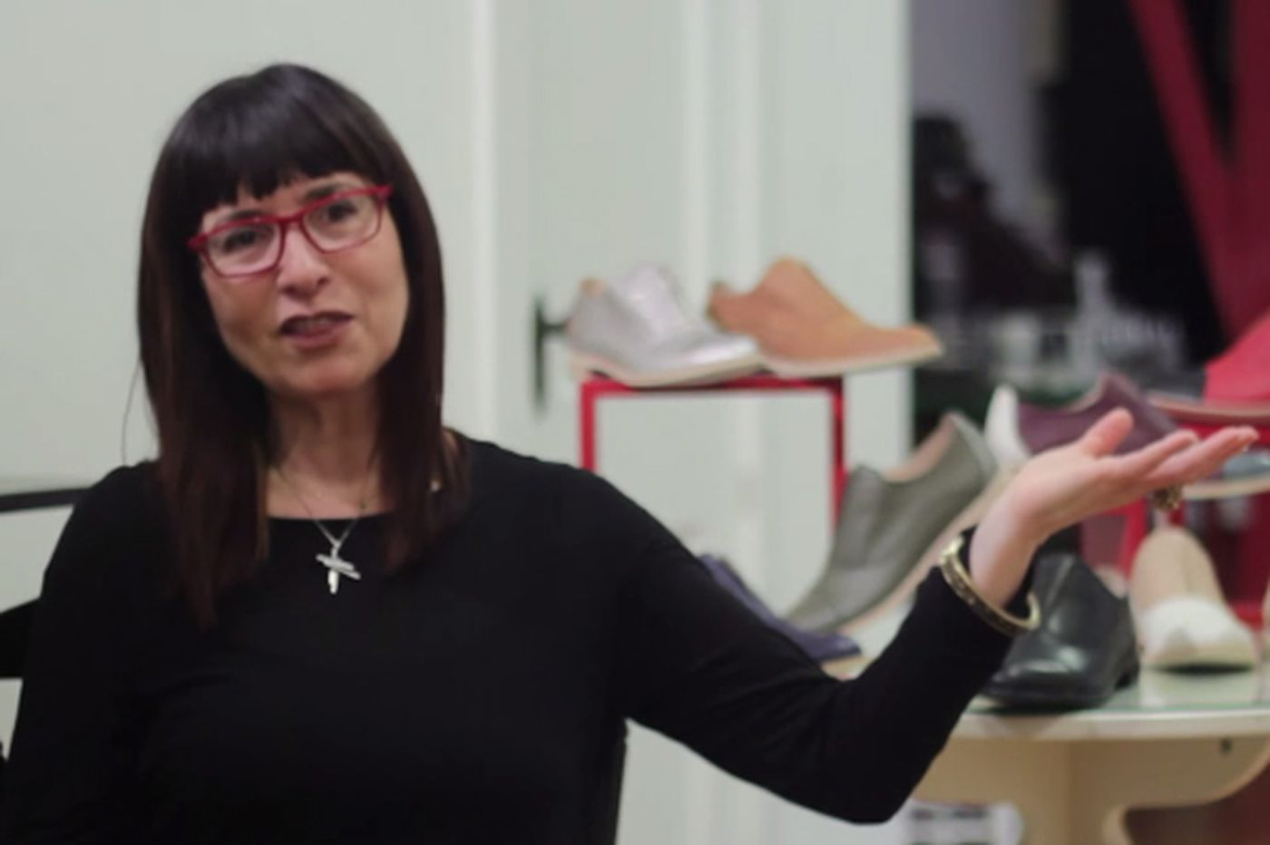 Mirror, Mirror: From shoe store owner to shoe designer