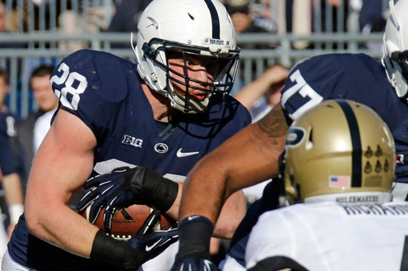 Penn State counting on a potent ground game