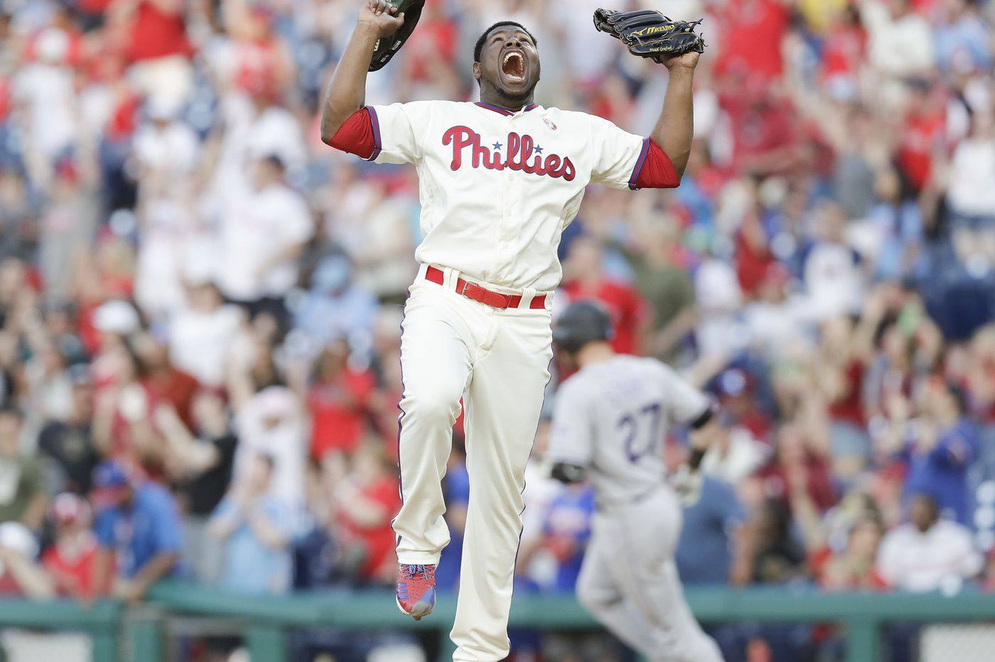 Phillies' reliever Hector Neris is a 'dominant force,' Gabe Kapler says