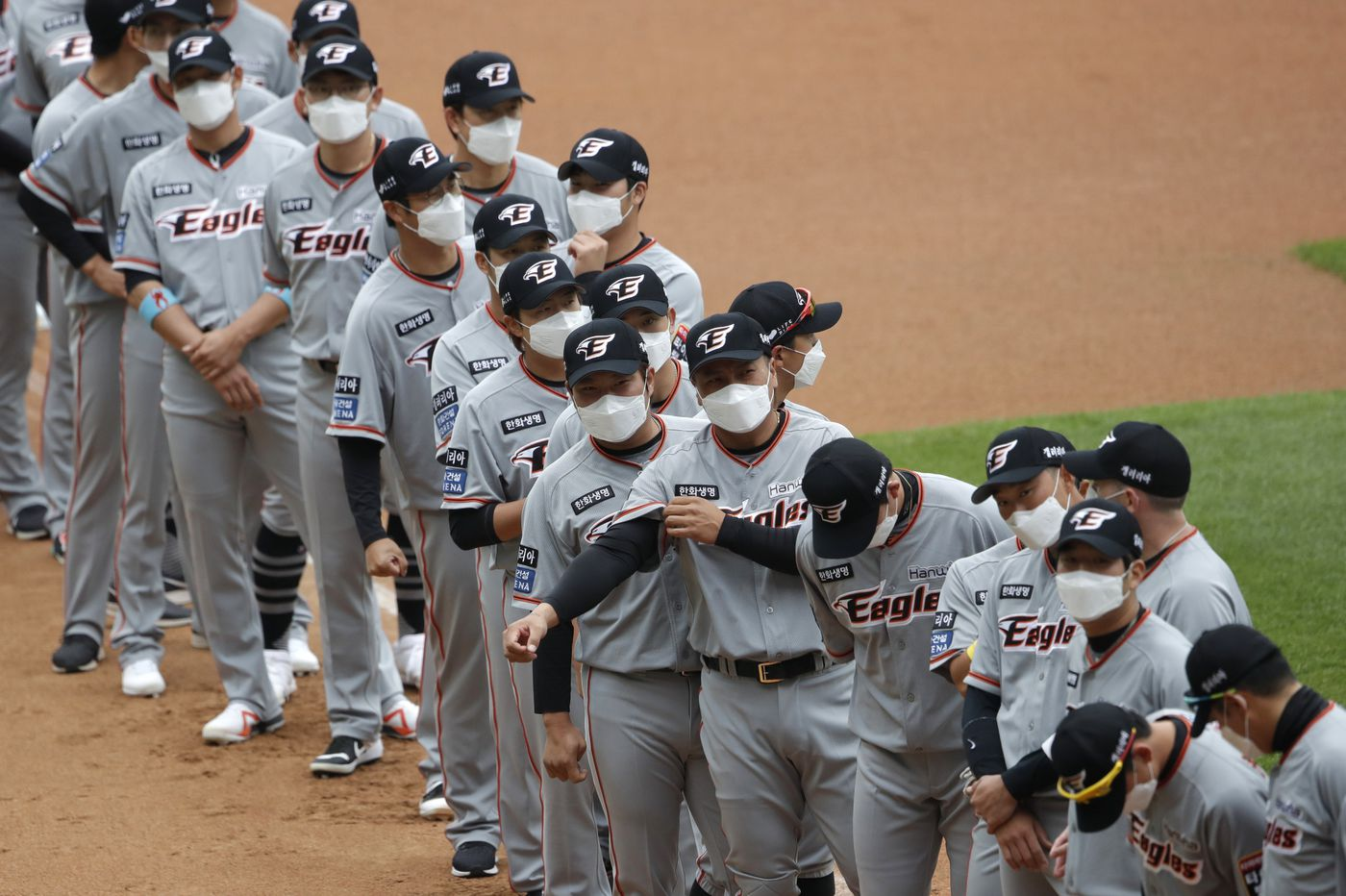 Baseball's back in South Korea. What does it mean, if anything, for MLB's chances of playing a season?