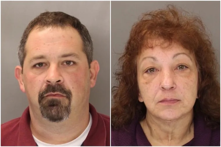 Brian Eckert and Ruth Rookstool each were charged with multiple counts of fraud and related offenses for allegedly stealing more than $130,000 from the Morrisville Ambulance Squad.