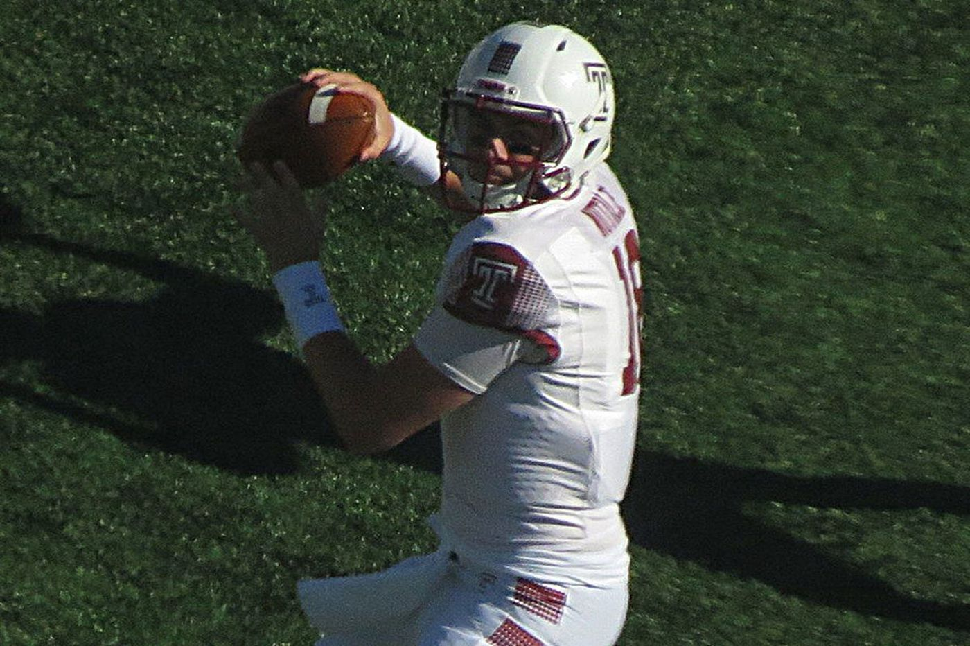 Temple QB Frank Nutile stays the same, whether he's starting or not
