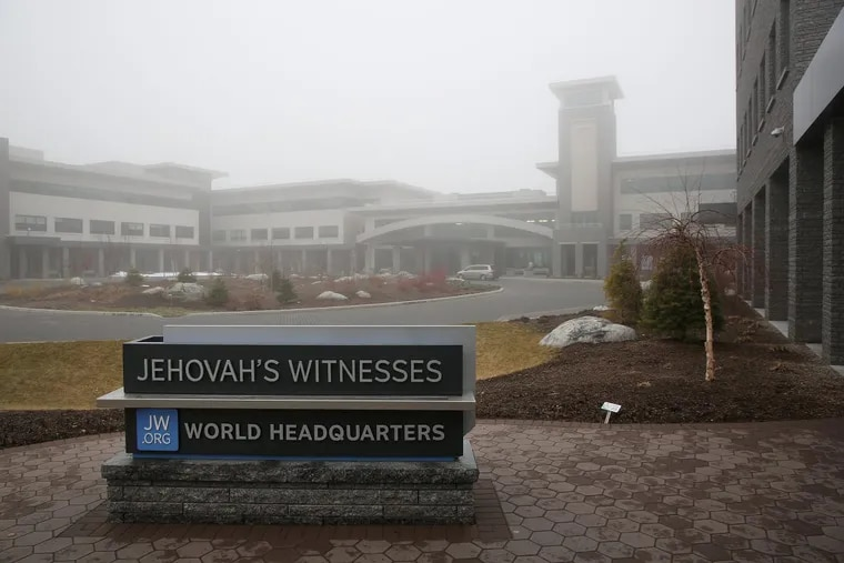 The Jehovah's Witnesses' world headquarters in Warwick, N.Y.