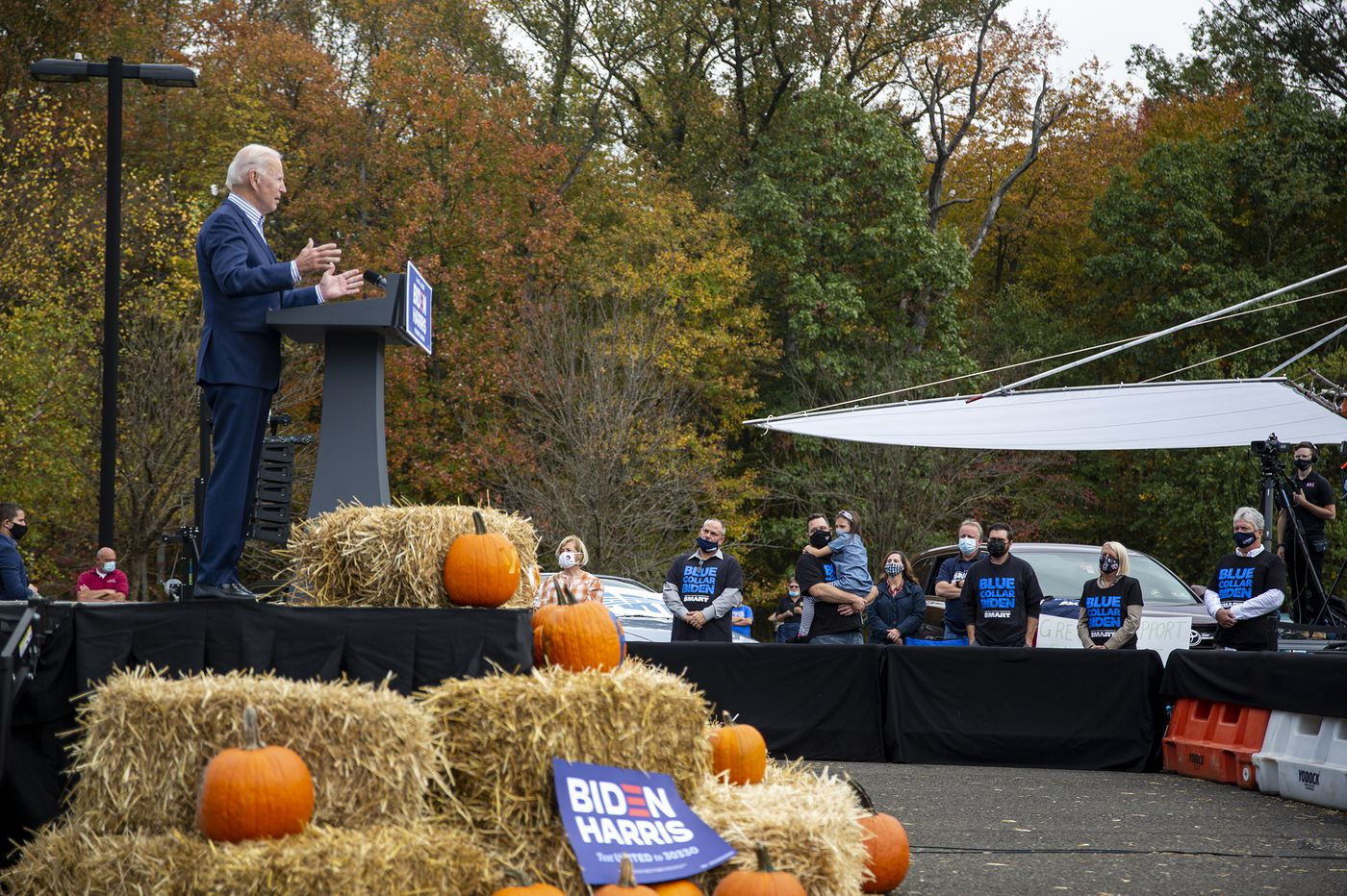 New polls show Biden in a strong position in Pennsylvania as 2020 campaign nears its end