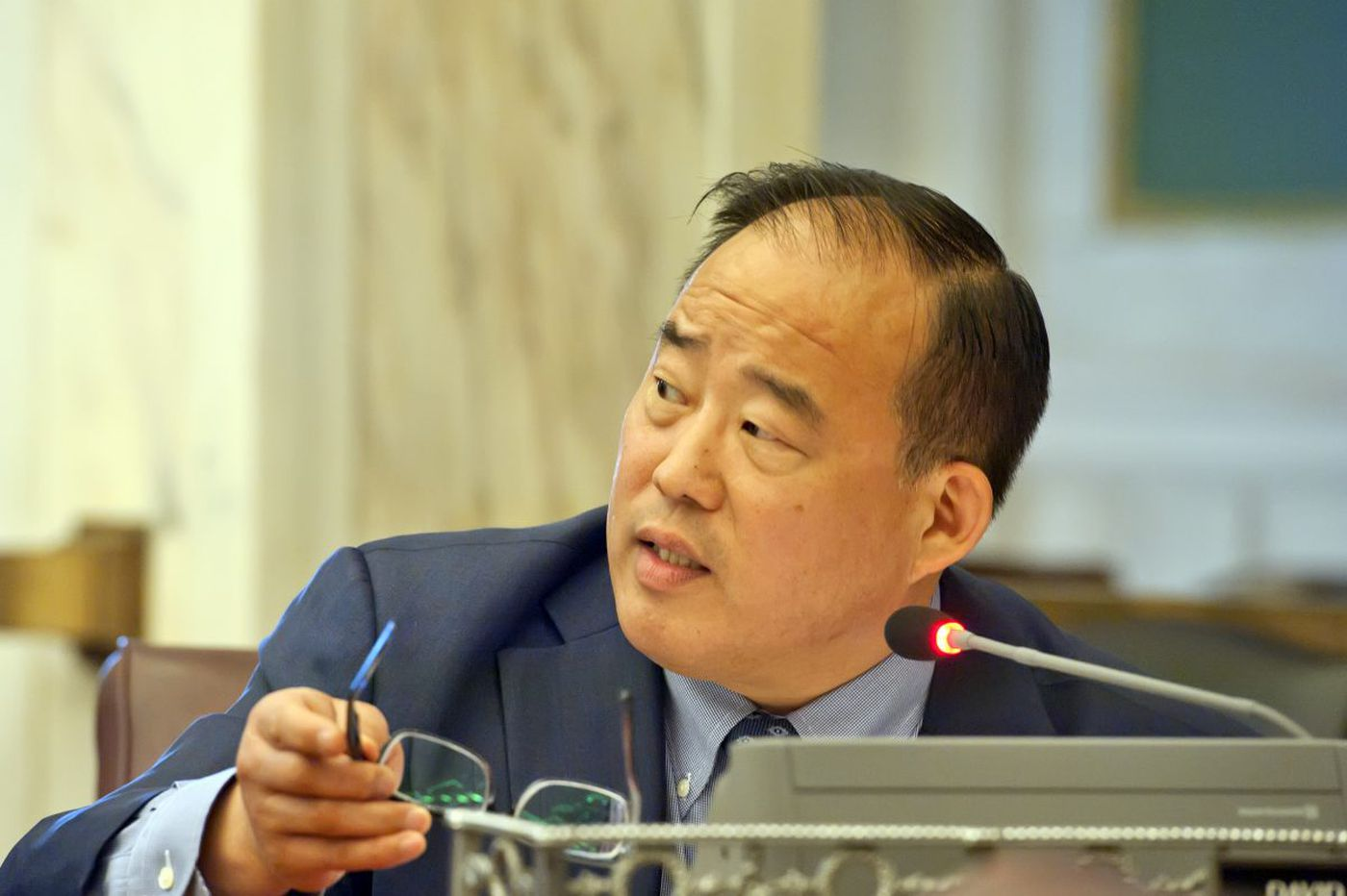 Councilman David Oh stabbed during street robbery near his Southwest Philly home