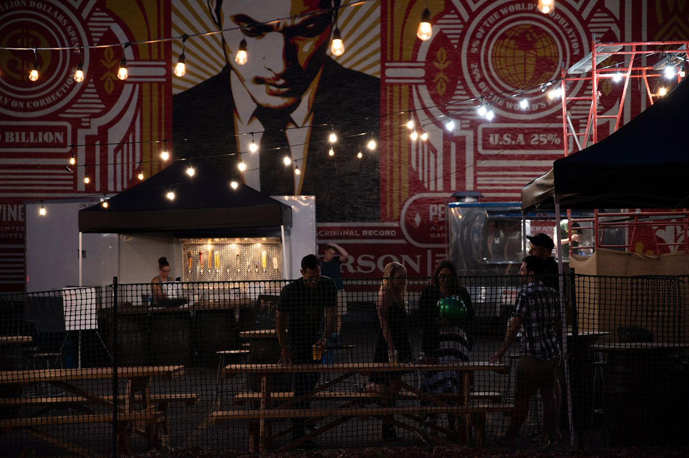 Boxcar Beer Garden sets up next to new Rail Park
