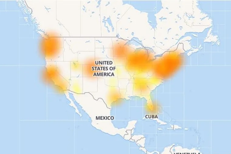 By Monday evening, Comcast internet service was being restored.