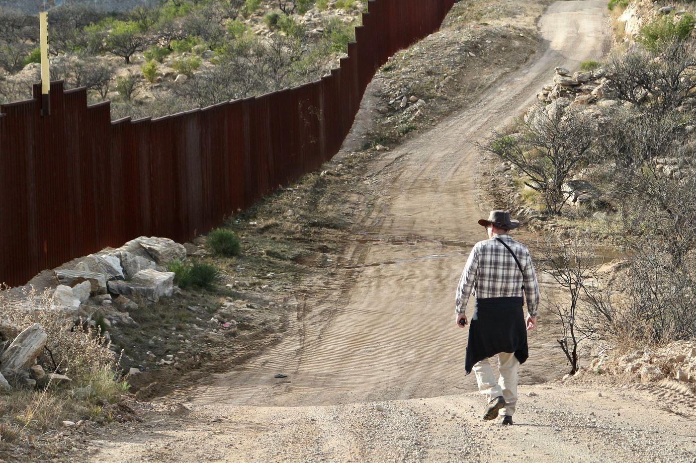 On the Arizona border, once a technicality and now a barrier