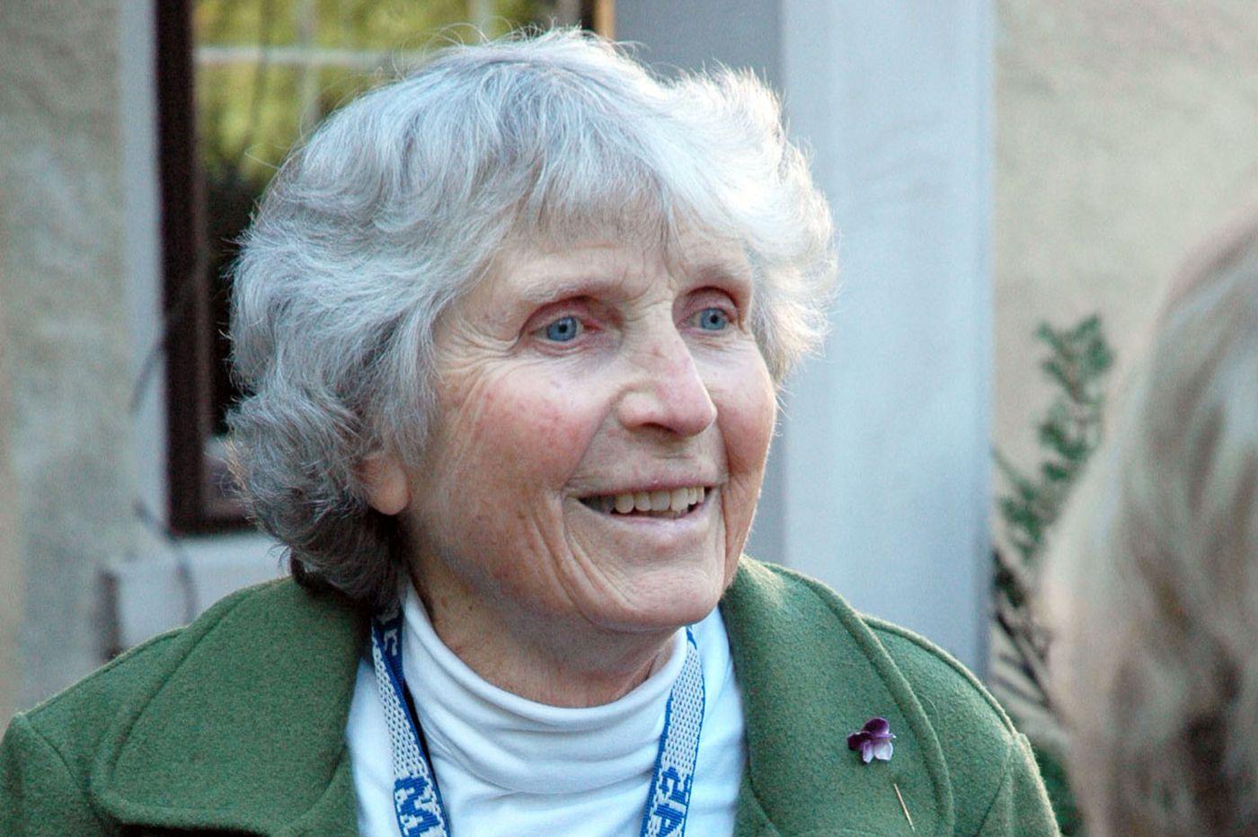 Elizabeth Cary, 92, a teacher at GFS