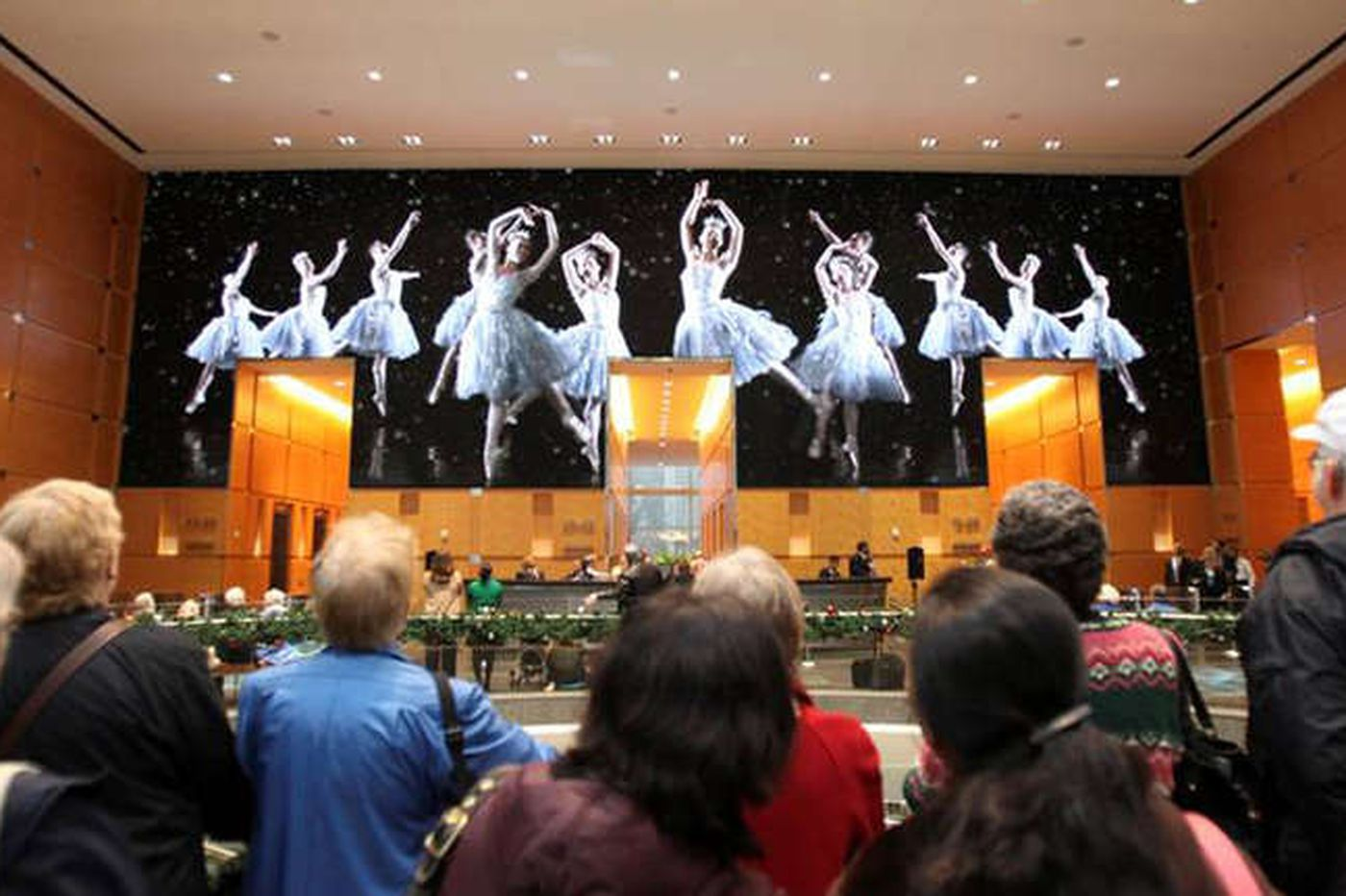 There will be no Comcast Holiday Spectacular this year, not even outside