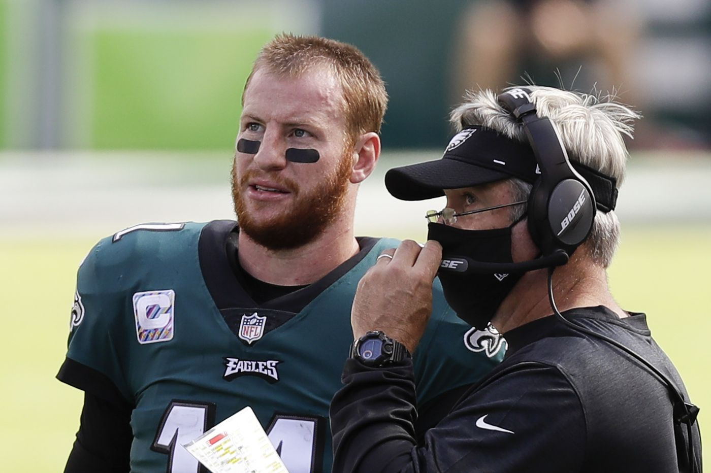 Doug Pederson says he should have called timeout before the Eagles' failed 2-point conversion