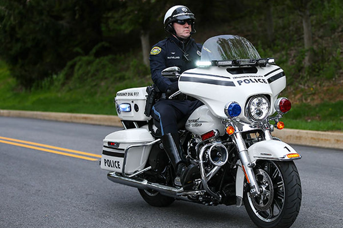 Motorcycles are important again for suburban police