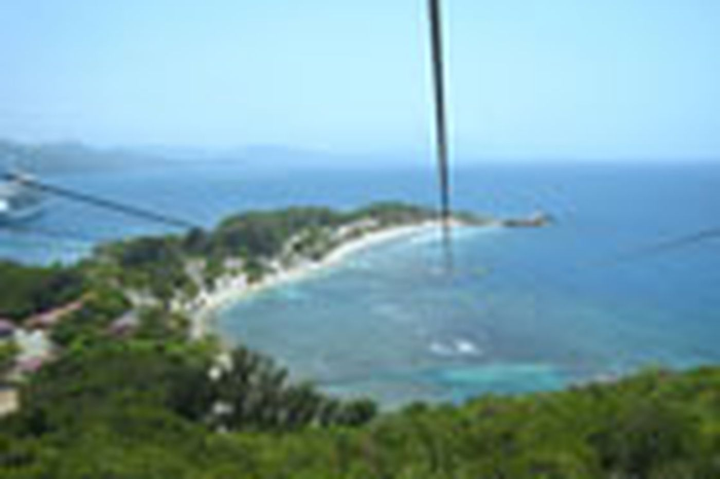 Personal Journey: On a zip line in Haiti, son, mother let it all hang out