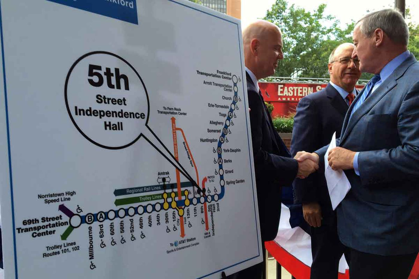 New name for Fifth Street subway stop