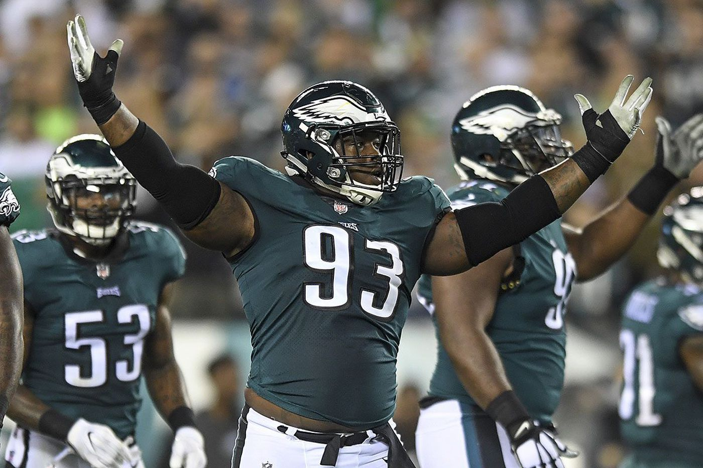 Eagles sign DT Tim Jernigan to $48 million contract extension