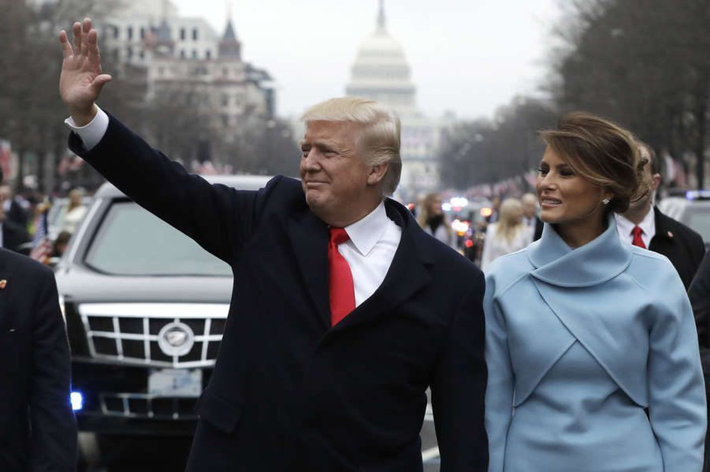 Trump's first year: It still feels as if America's trapped in amovie | Michael Smerconish