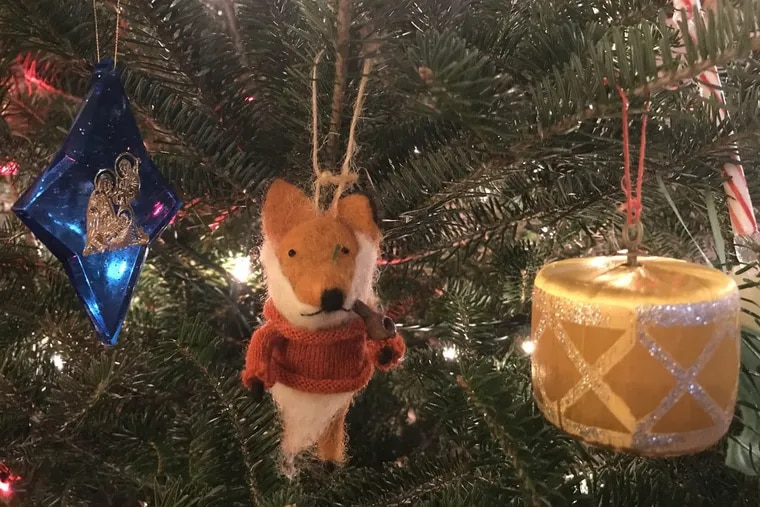 What is a Christmas tree if not that annual reminder that all things gone are not forgotten? Even a village of misfit ornaments like these, columnist Maria Panaritis writes, can tell stories we might otherwise forget. Maria Panaritis /  STAFF