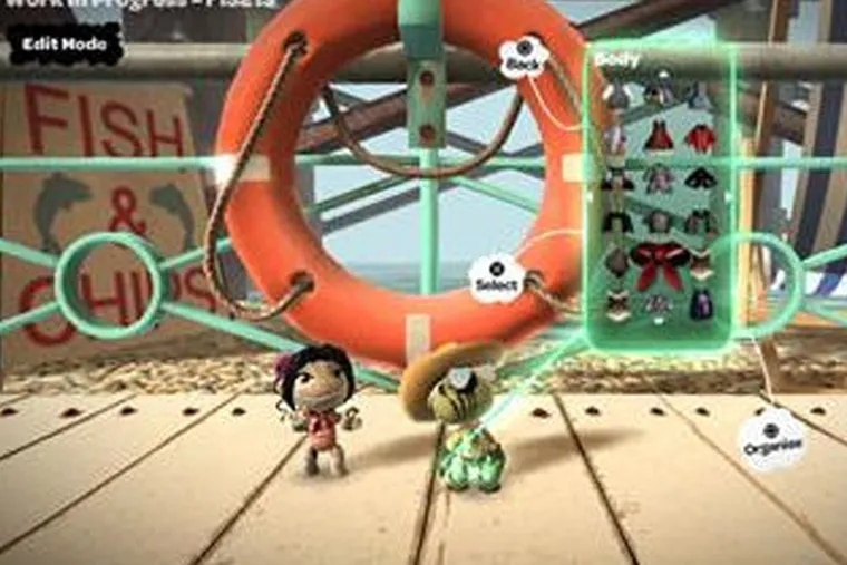 Little Big Planet , a new breed of brain-teasing puzzler, is an example of the stiff competition that awaits Sony's new Home, a much tamer beast.