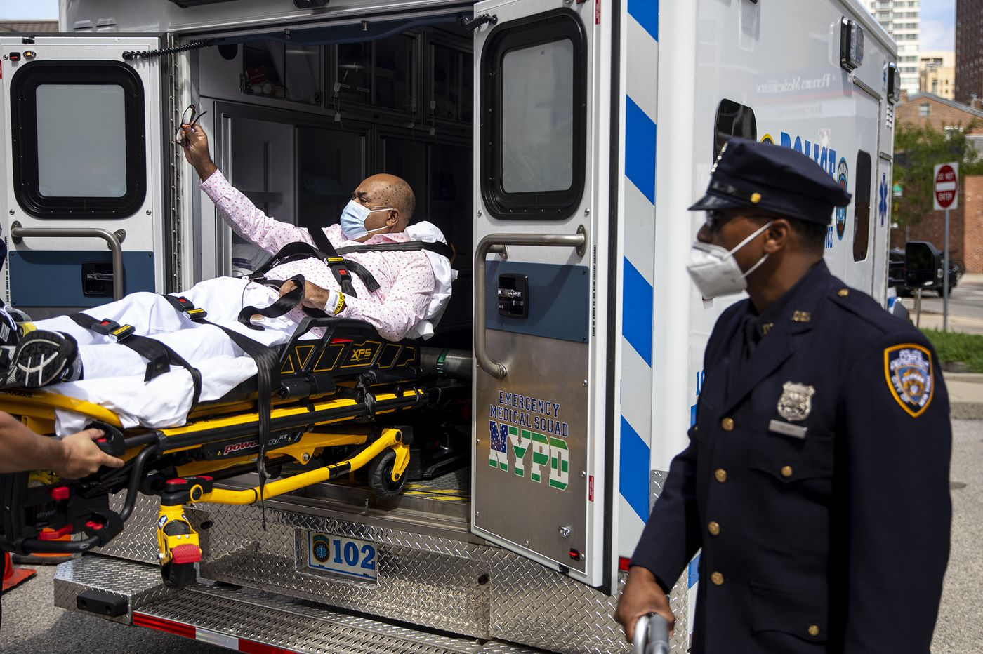 A NYPD cop with COVID-19 had 'no chance of surviving.' Penn Medicine and his nurse daughter brought him back.