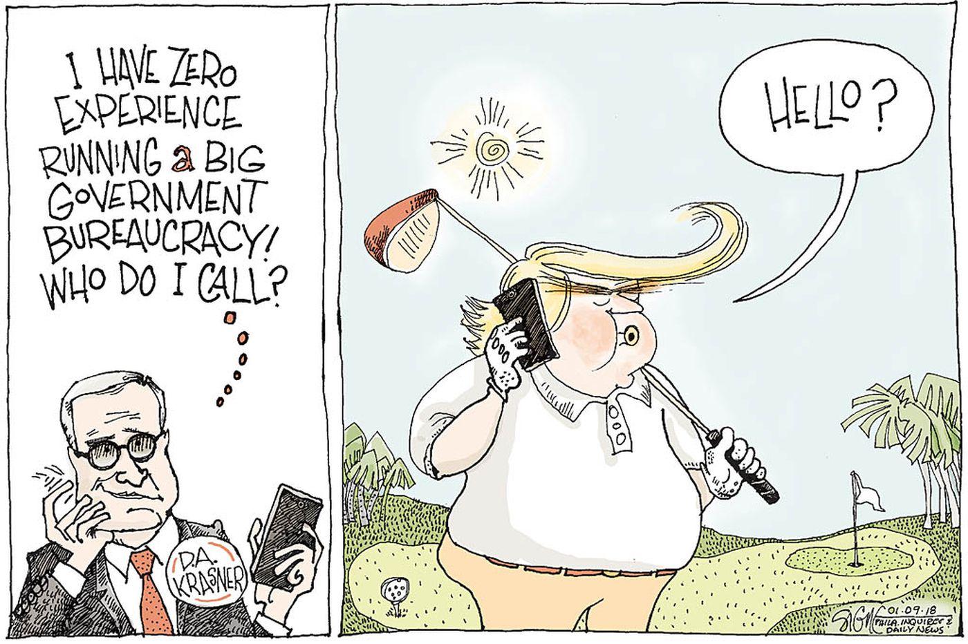 Daily Signe Cartoon 01/09/18