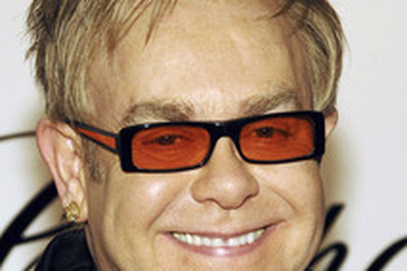 Sideshow | Tribe honors Sir Elton