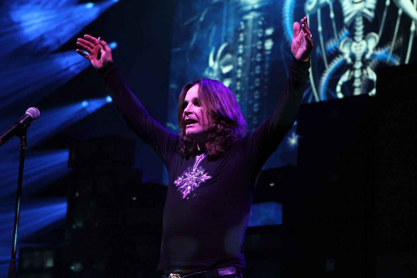 Ozzy Osbourne returns to the BB&T Pavilion for what might be the final time